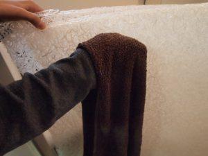ブレスエアーの乾かし方