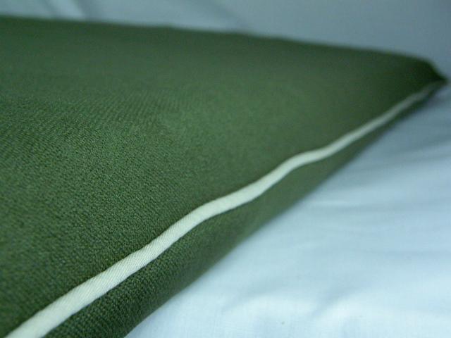 老犬・高齢犬用ベッドマット側カバー ダークオリーブグリーン
