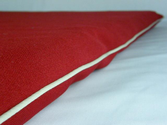 老犬・高齢犬用ベッドマット側カバー深紅(Crimson Red)