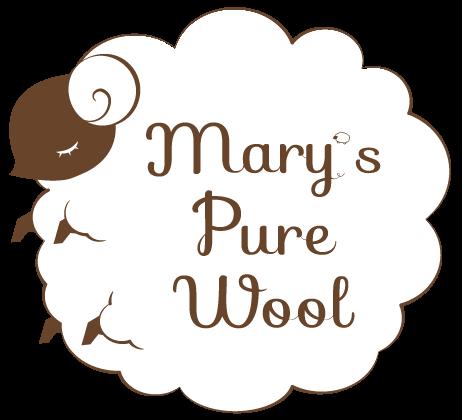 冬物ウール商品 ロゴ公開!! 【Mary's Pure Wool vol.3】