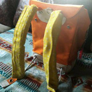 【スタッフアイデア】ブレスエアーを使ってランリュックカバー作ってみました!