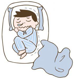 【冬の眠りを妨げる あるあるNG行動③】暖かい冬用ルームウェアを、パジャマにも??