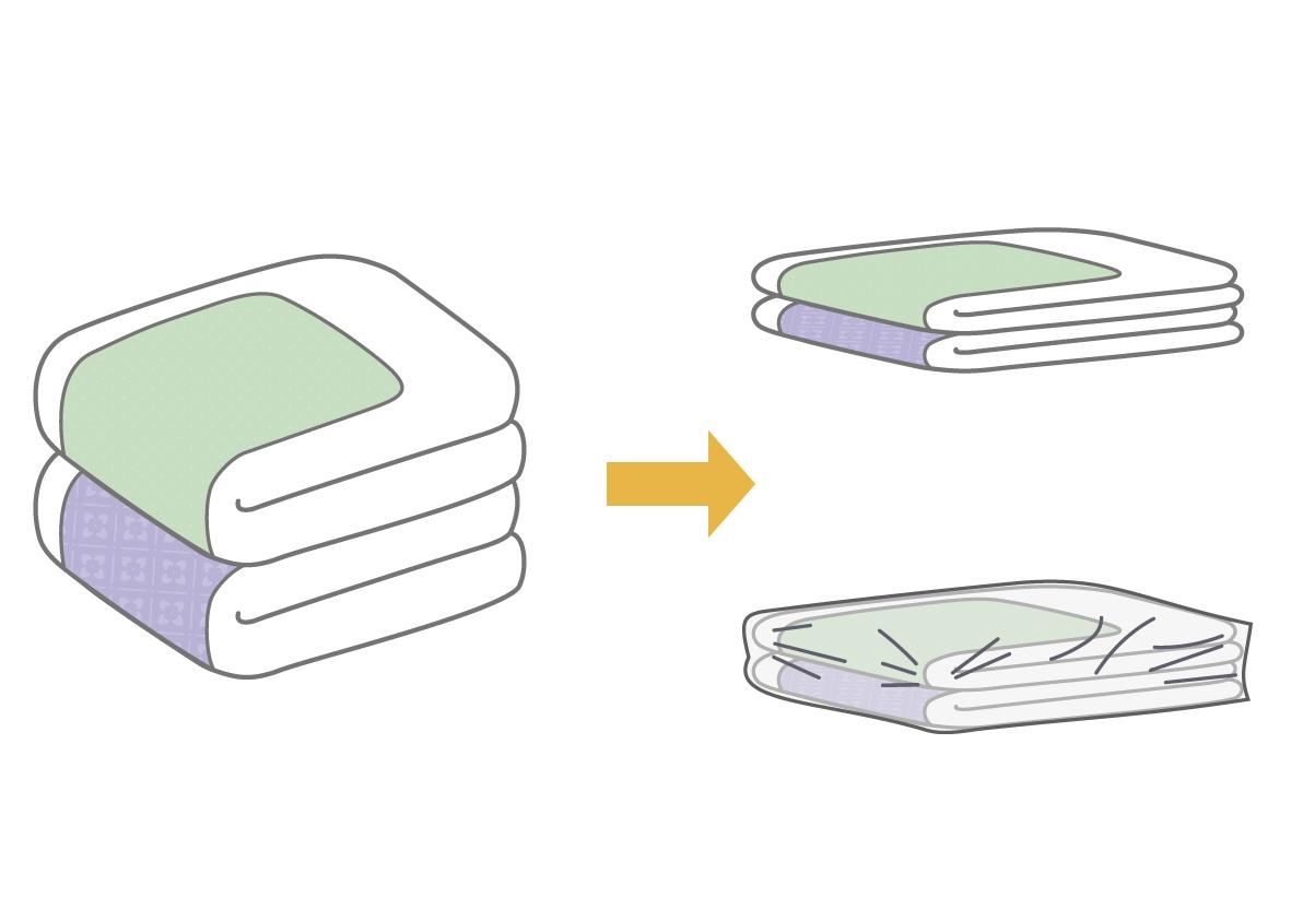 その② 機能性を保つ羽毛布団の収納方法